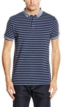 Esprit Men's Po Wp Mix Polka Dot Short Sleeve Polo Shirt