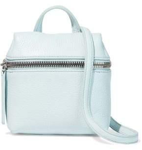 Kara Micro Textured-Leather Shoulder Bag