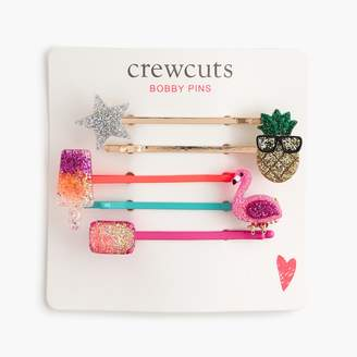 J.Crew Girls' embellished bobby pin pack
