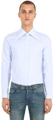 Gucci Pointed Collar Oxford Shirt