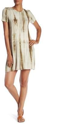 Bobeau Tie-Dye T-Shirt Dress