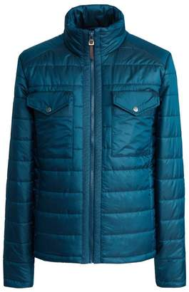 Pretty Green Funnel Neck Quilted Jacket