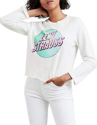 Levi's Fleece Circle Cloud Graphic Gym Sweatshirt
