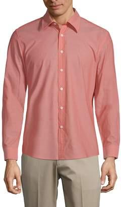 Hyden Yoo Classic Slim-Fit Cotton Button-Down Shirt