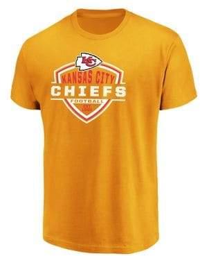 Majestic Kansas City Chiefs NFL Primary Receiver Cotton Tee