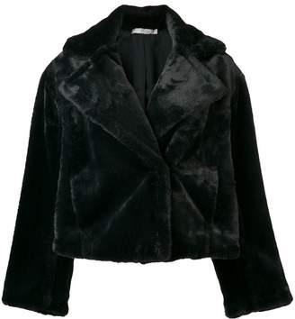 Vince faux fur cropped jacket