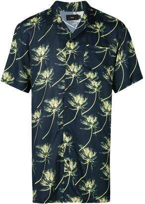 Onia Vacation palm tree shirt