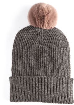 Rabbit Pompom Hat