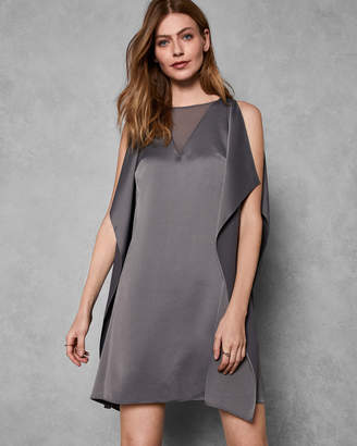Ted Baker AMIILIA Waterfall sleeveless dress