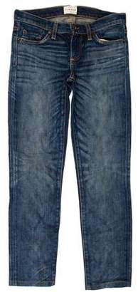 Simon Miller Distressed Low-Rise Jeans