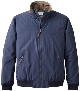 L.L. Bean L.L.Bean Men's Warm-Up Jacket, Flannel-Lined