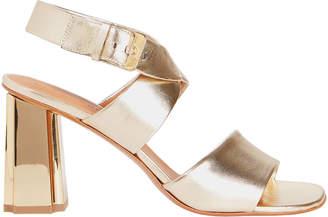 Robert Clergerie Zora Metallic Sandals