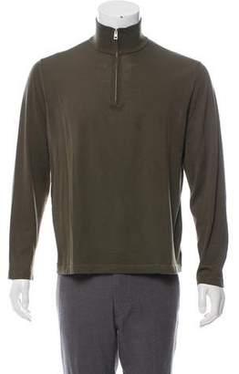 Malo Half-Zip Knit Sweater
