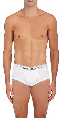 Calvin Klein Men's Cotton Briefs - White