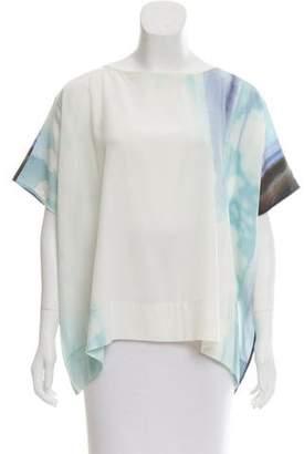 Diane von Furstenberg New Hanky Silk Top