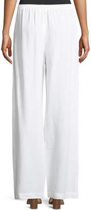 eskandar Drawstring Linen Trousers