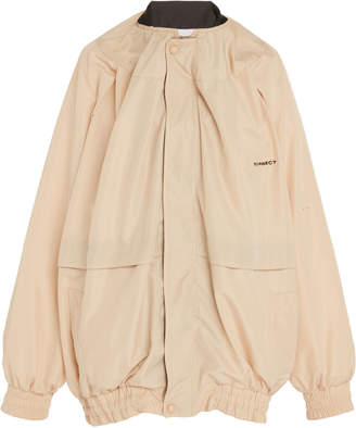 Y/Project Draped Two-Tone Track Jacket