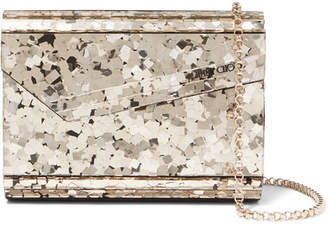 Jimmy Choo Candy Acrylic Clutch - Gold