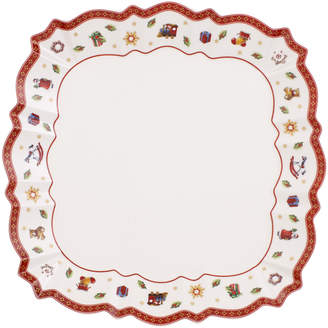 Villeroy & Boch Toy's Delight Square Dinner Plate 10.25 in
