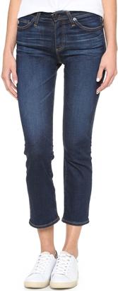 AG Jodi Flared Crop Jeans $235 thestylecure.com