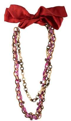Nina Ricci Double Strand Necklace