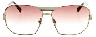 Marc Jacobs Marc Jacobs Reflective Aviator Sunglasses