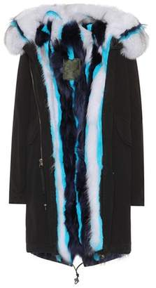 Mr & Mrs Italy Exclusive to mytheresa.com – Fur-trimmed parka