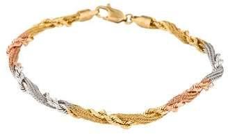 18K Tri-Color Bracelet