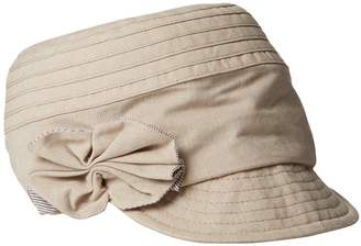 Betmar Women's Denise Newsboy Cap with Trim