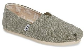 Women's Toms Alpargata Chambray Slip-On $54.95 thestylecure.com