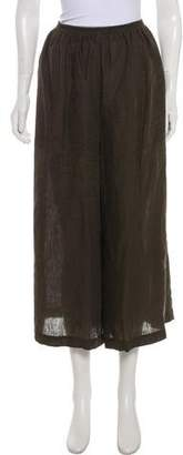 eskandar Linen Wide-Leg Pants
