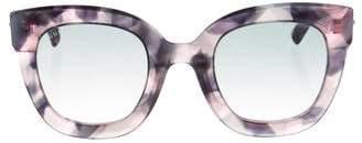 Gucci Embellished Tortoiseshell Sunglasses