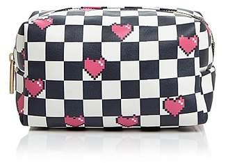 Skinnydip London Checkered Makeup Bag - 100% Exclusive