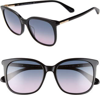 Kate Spade Caylin 54mm Gradient Square Sunglasses