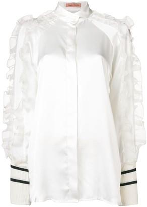 Maggie Marilyn ruffled sleeve blouse