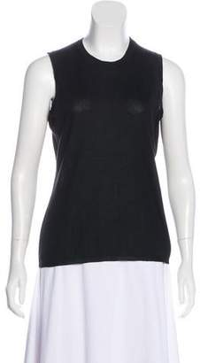 Malo Crew Neck Sleeveless Top