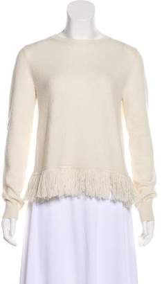 Jenni Kayne Wool Fringe Sweater