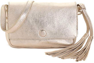 American Eagle Outfitters Front Flap Leather Crossbody Bag - Women's
