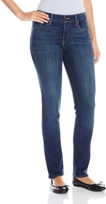 Levi's Women's Mid Rise Skinny, Luck Out West, 12 M