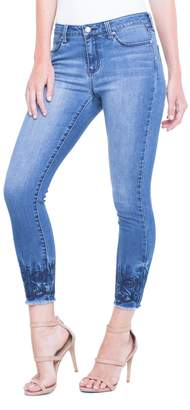 Liverpool Jeans Company Alec Crop Ebroidered