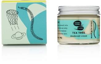 Meow Meow Tweet Tea Tree Deodorant Cream by 2.4oz Deodorant)