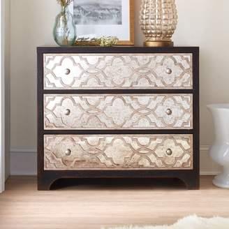Hooker Furniture Sanctuary Fretwork 3 Drawer Chest