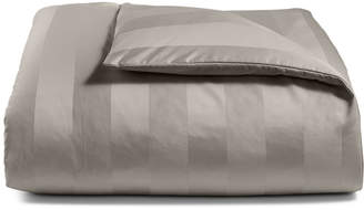 Charter Club Damask Stripe Twin Duvet Cover, 100% Supima Cotton 550 Thread Count