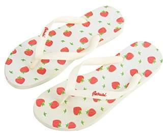 Aerusi Ocean Corte Series Strawberry Flip Flop Sandals