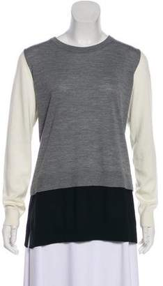 Akris Punto Wool Long Sleeve Sweatshirt w/ Tags
