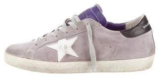 Golden Goose Suede Superstar Sneakers