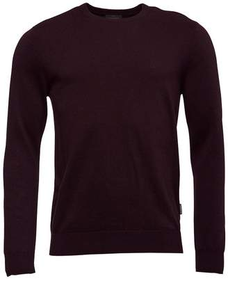 Peter Werth Mens Crew Neck Knit Top Chateaux