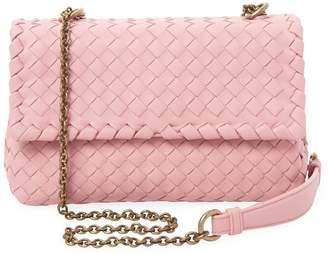 Bottega Veneta Women's Woven Leather Crossbody Bag
