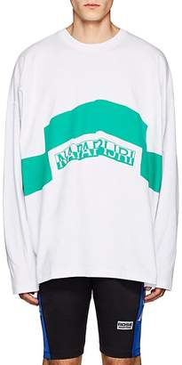 "Martine Rose Napa by Men's ""Napapijri"" Cotton Jersey T-Shirt"