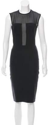 Martin Grant Wool & Silk-Blend Sleeveless Dress